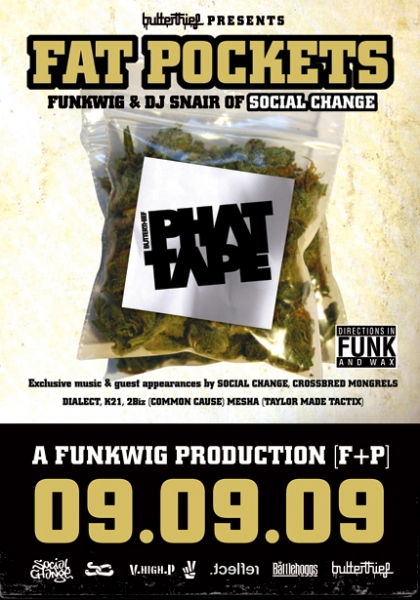 phat tape poster allaussie hip hop