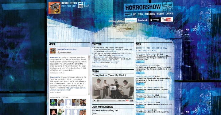 horrowshow website allaussie hip hop