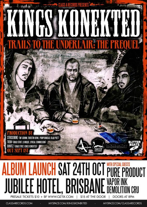 KingsKonekted allaussie hip hop