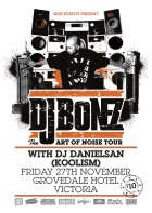 DJ BOnez art of noise up tour allaussie hip hop