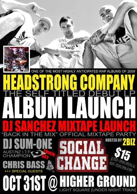 Headstrong company launch allaussie hip hop