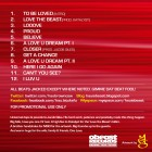 Love-the-beast-tracklisting