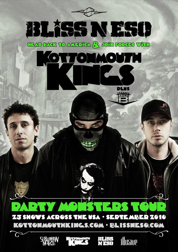 Kottonmouth Kings Australian Tour