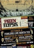 Pagen Elypsis - Album Launch allaussie hip hop