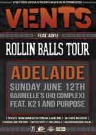 Vents Rollin Balls Tour