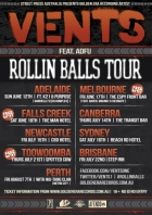 vents national rollin balls tour