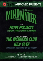 Mind Over Matter - 14th July 2011