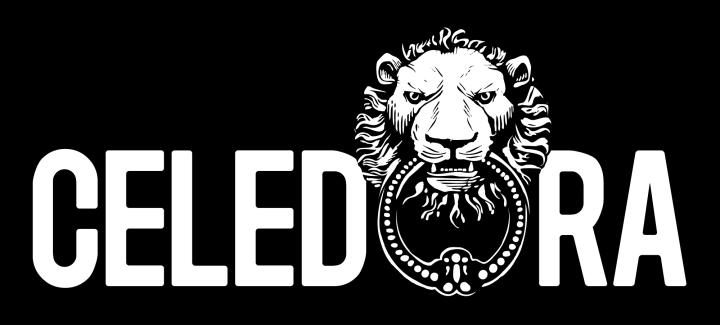 Celedora_Logo_White_on_Black_Large