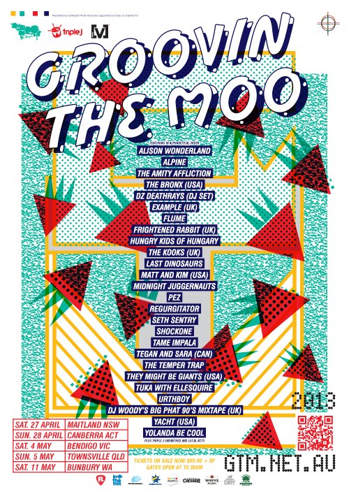 Groovin the Moo GTM website - induced info