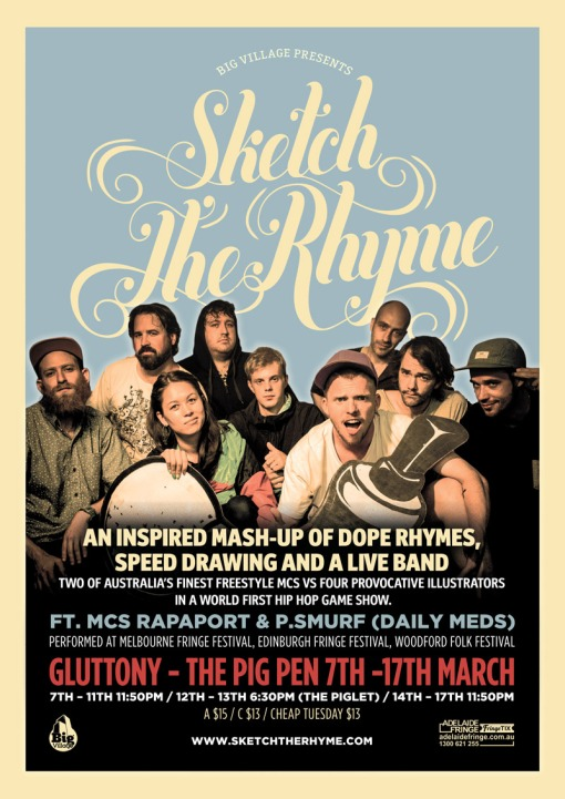 sketch the rhyme adelaide