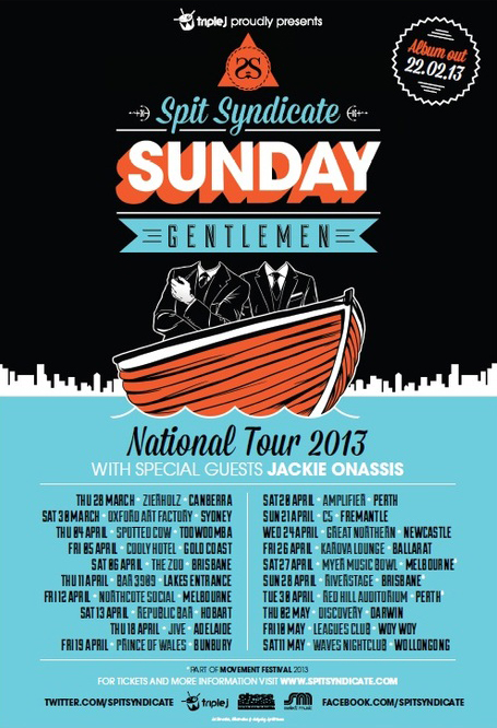 sunday gentleman tour