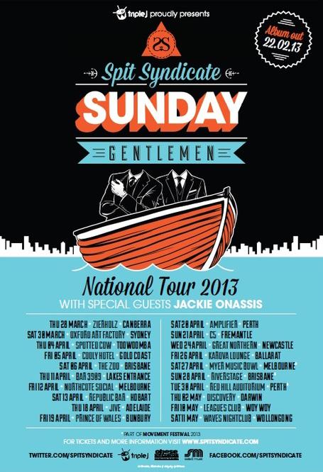 sunday gentleman tour