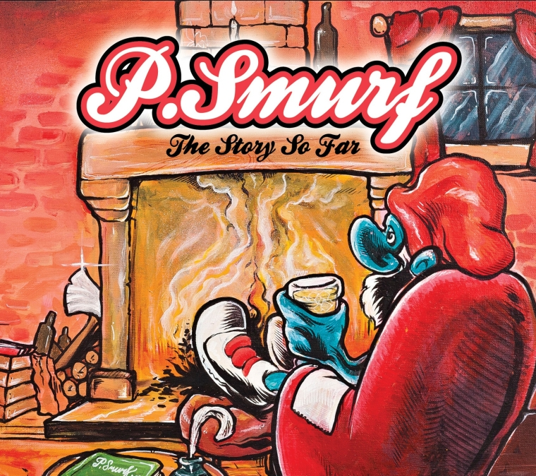 P.Smurf - The Story So Far - Front Cover