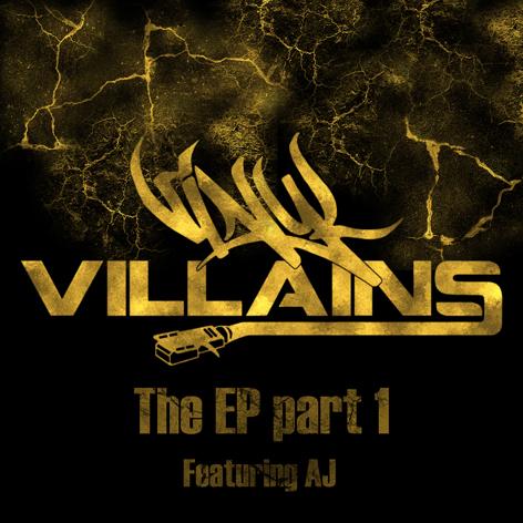 VinylVillains-TheEPpart1CDFrontCover100dpi