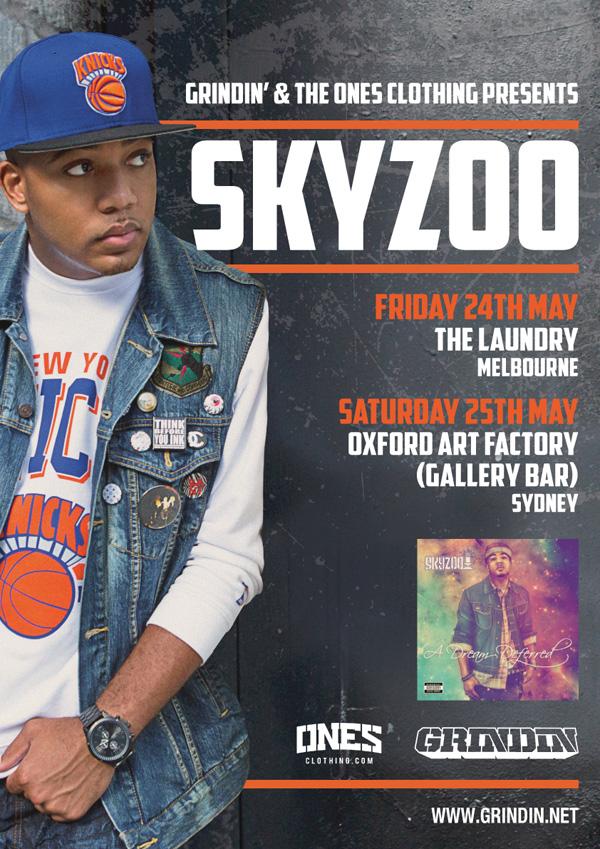 Skyzoo national tour artwork
