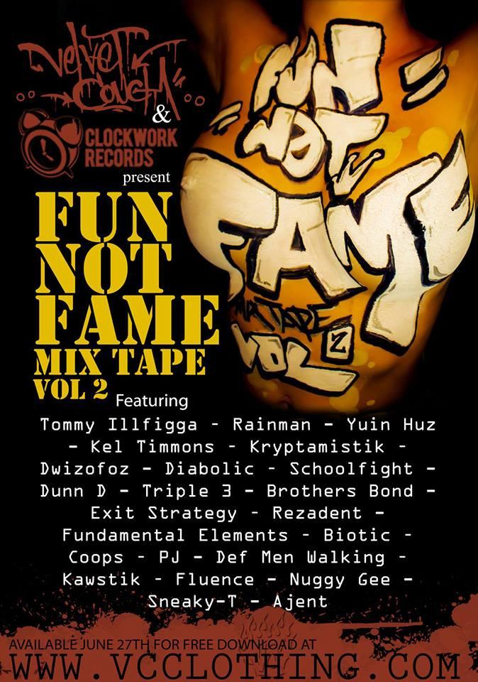 Fun Not Fame Vol 2 Poster