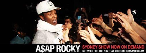 A$AP Rocky Sydney SHow On Demand