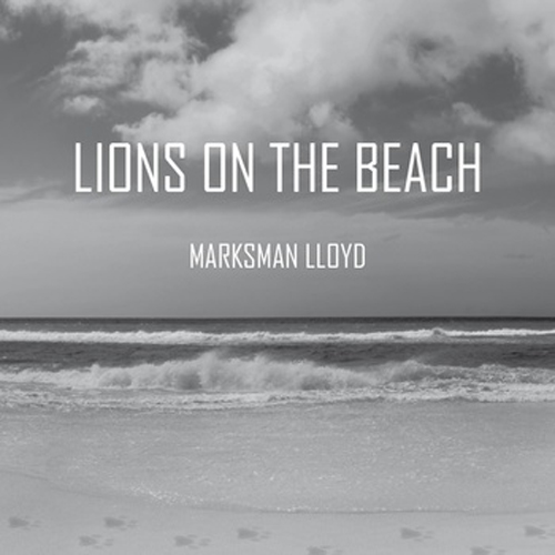 lions on the beach