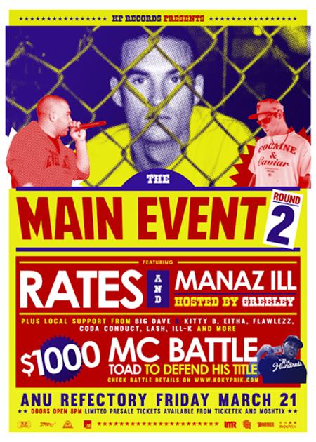 main event round 2 road rates