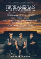 THUN 015 - So We Can Remember Tour A2 Poster