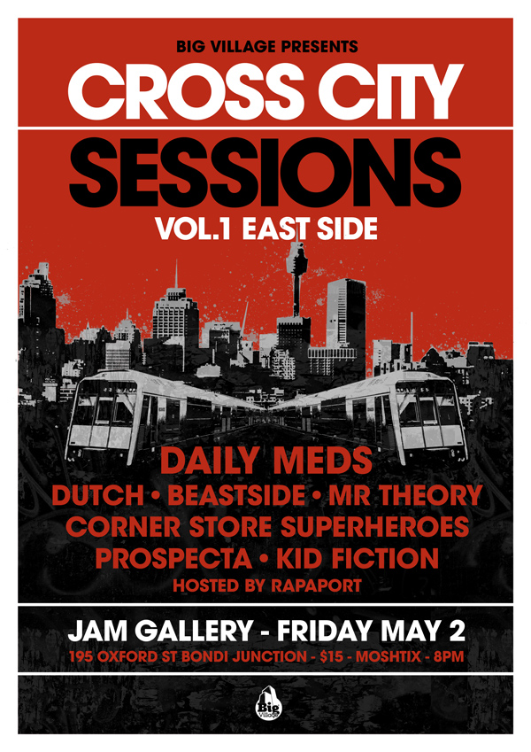cross city sessions