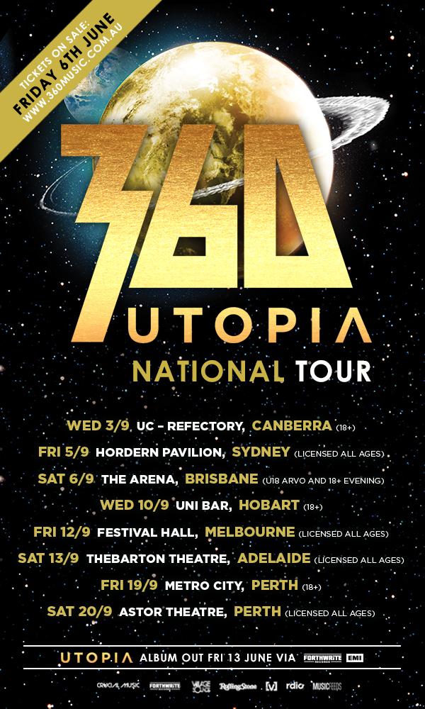 360 Utopia tour