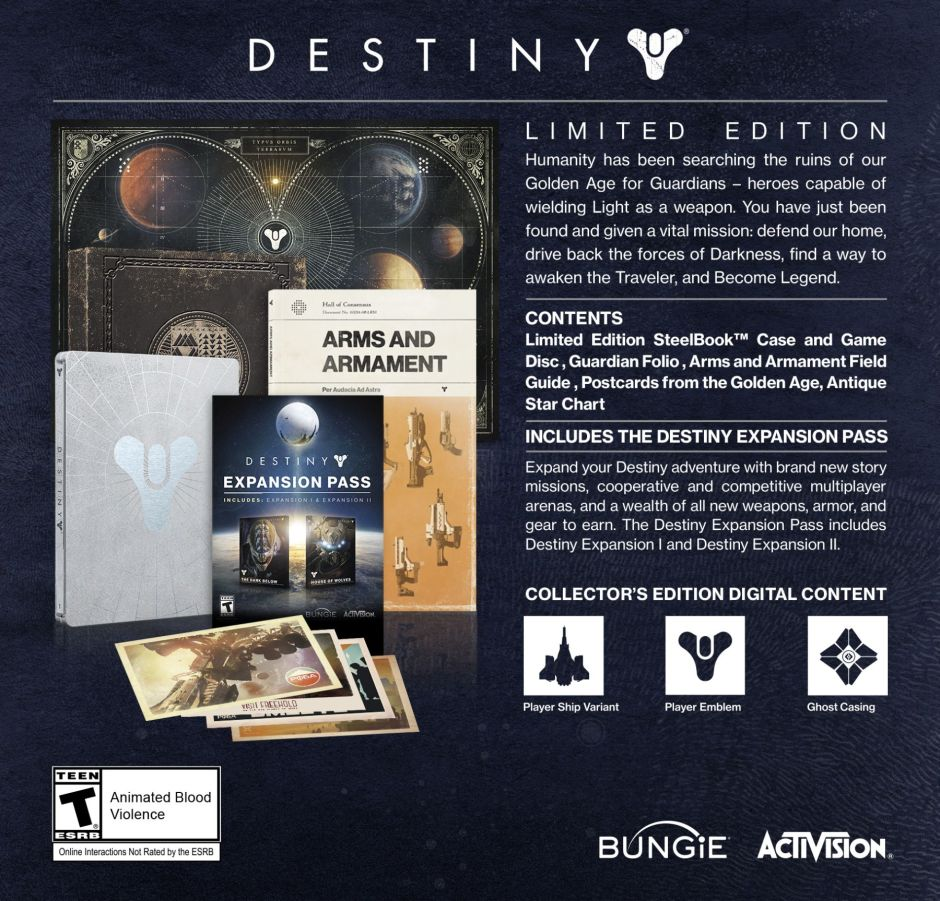 Destiny_Limited_Edition_info_sheet