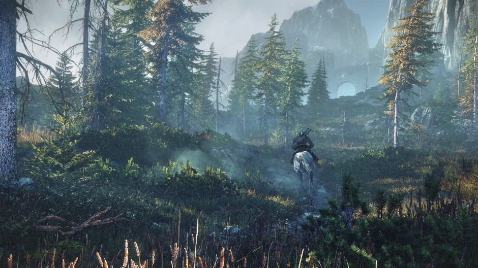 1371178375-riding-horseback-geralt-can-admire-the-beautiful-vistas-of-the-morning-sun-shining-down-on-the-island-of-ard-skellig
