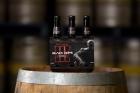 Call of Duty Black Hops Beer -Bottles on barrel