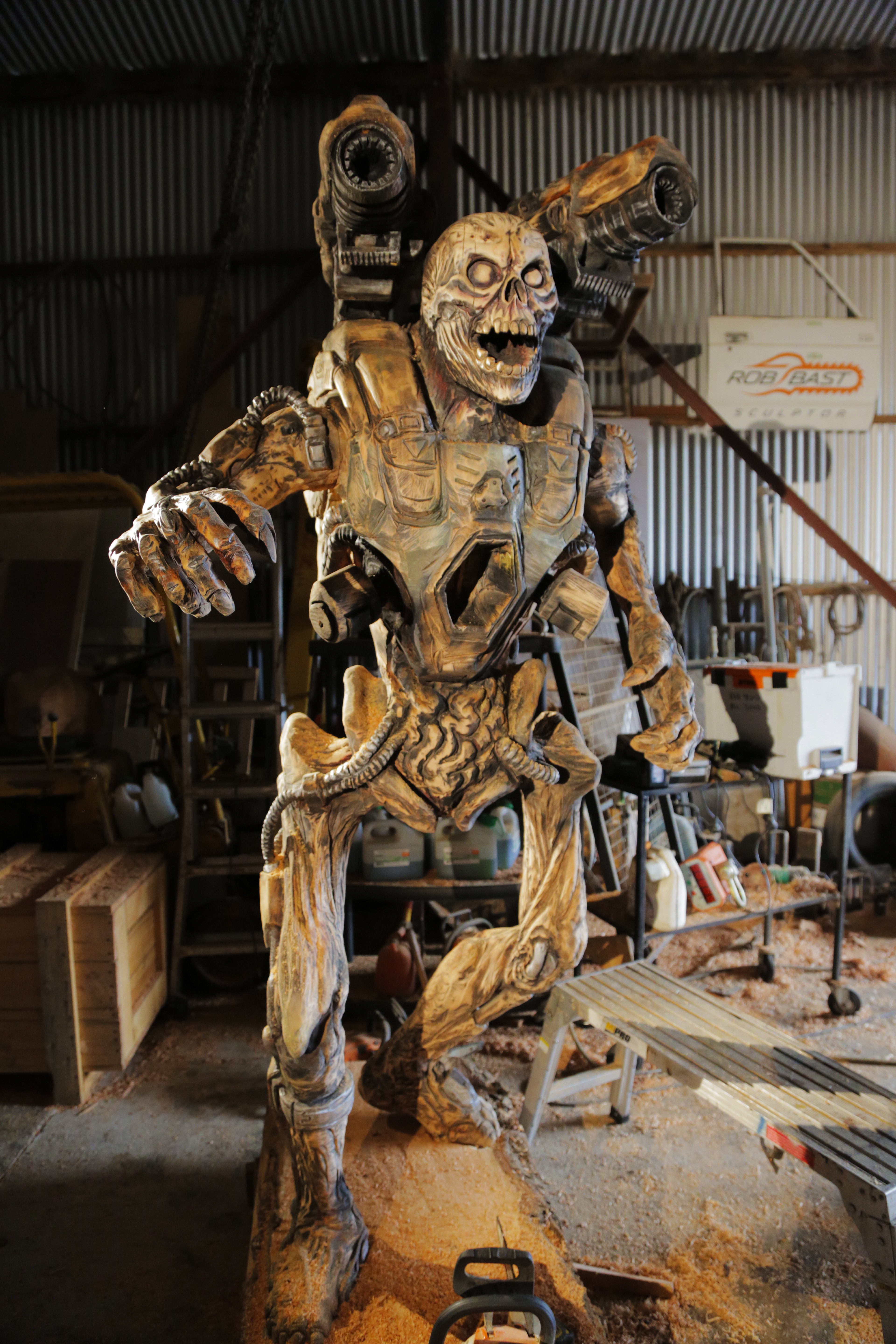 Doom chainsaw sculpture to be exhibited at acmi