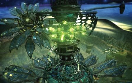 Xbox Academy -sci-fi-tower