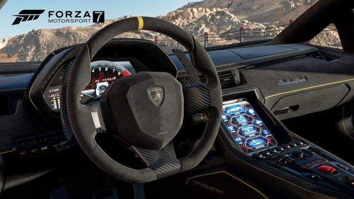 Forza 7 Lamborghini Cockpit 4K