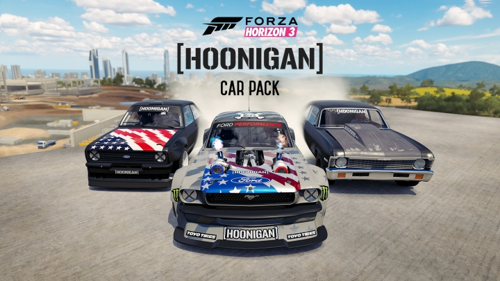 FH3 Hoonigan Car Pack Trailer Thumb