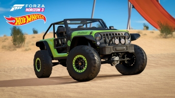 Forza Horizon 3 Hot Wheels 2016 Jeep Trailcat Solo