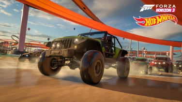Forza Horizon 3 Hot Wheels 2016 Jeep Trailcat