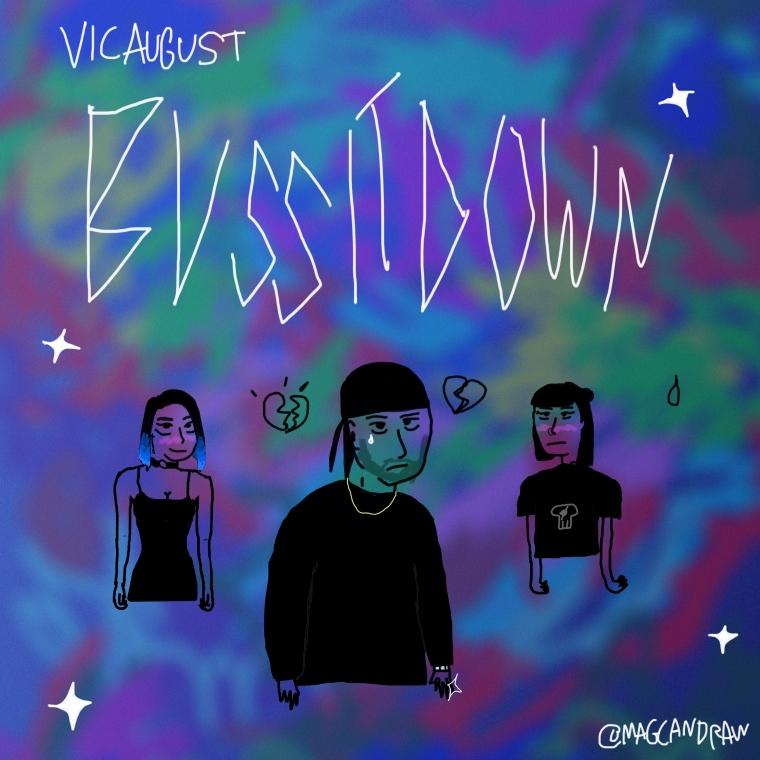 WVS033 - Vic August - Buss It Down - Artwork