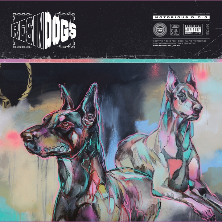 Resin Dogs Notorious D.O.G